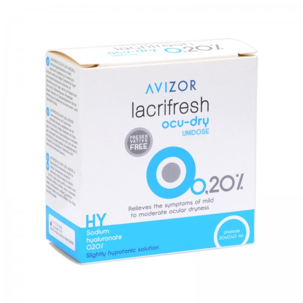 Lacrifresh Ocu-Dry 0,20% Unidose